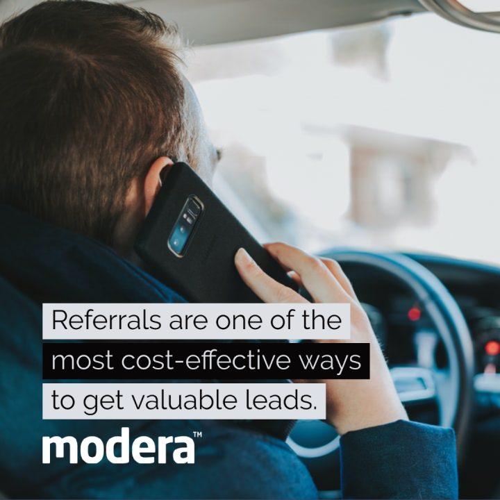 auto dealer lead generation ideas referrals