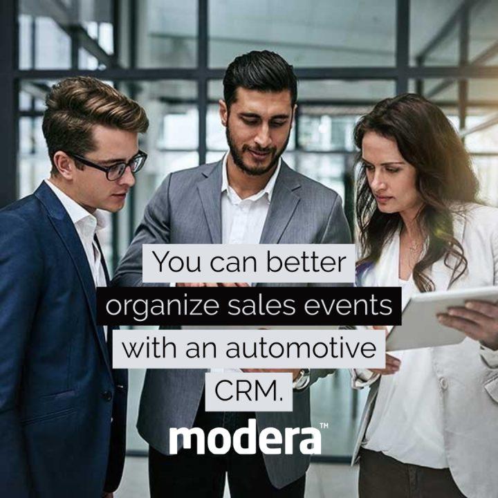 automate with automotive crm sales events