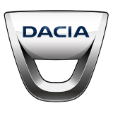 Logo of Dacia