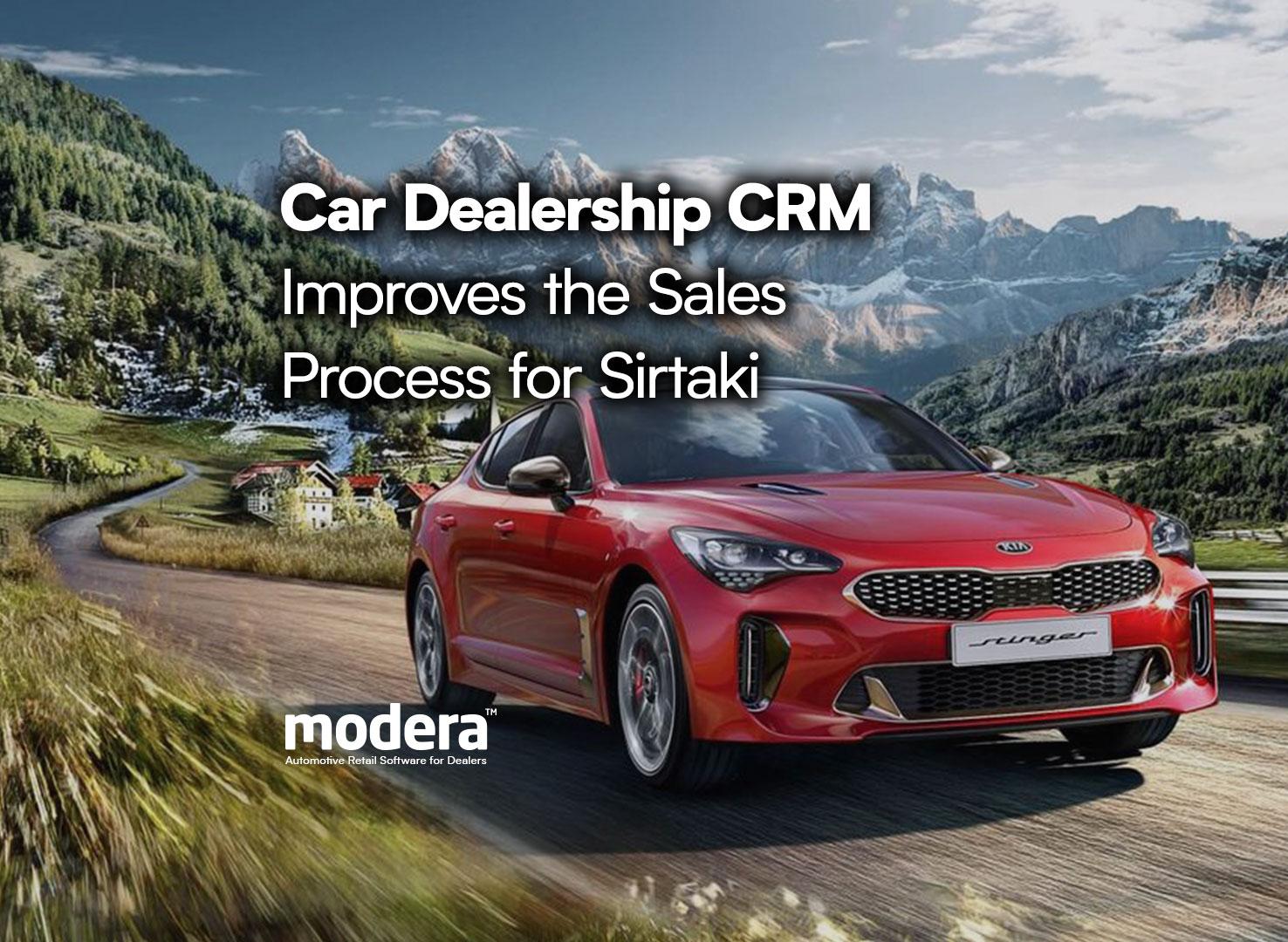 car dealership crm