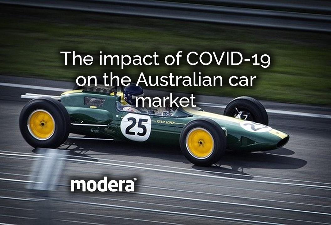 The impact of COVID-19 on the Australian car market